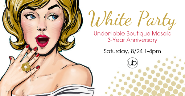 UB Anniversary White Party!