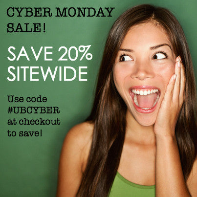 CYBER MONDAY SALE | SAVE 20% SITEWIDE!