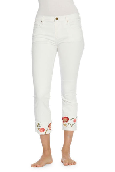 Embroidered Jeans Summer Fashion Trend 2018