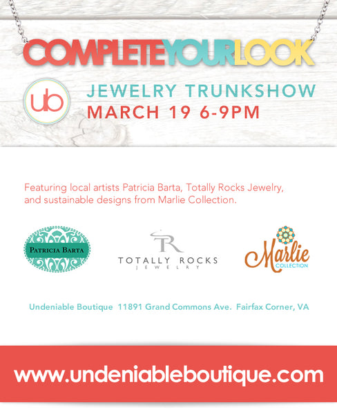 Complete Your Look Jewelry Trunkshow