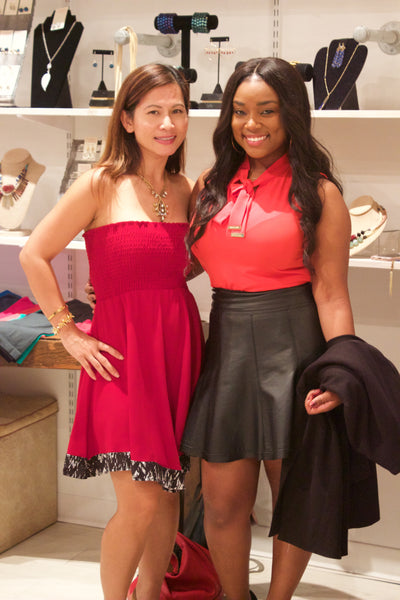 Undeniable Boutique Beautiful Guests at Fashion's Night Out