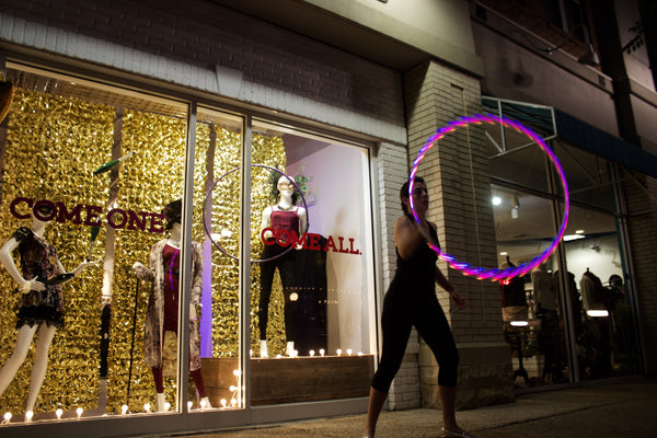 Undeniable Boutique Hula Hoop Performer Fashion's Night Out