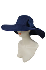 Floppy Navy Sun Hat