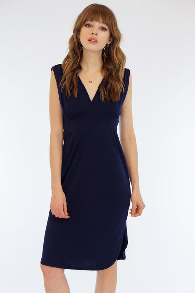 LAST CALL SIZE XL | Deep Tunnel V-Neck Dress