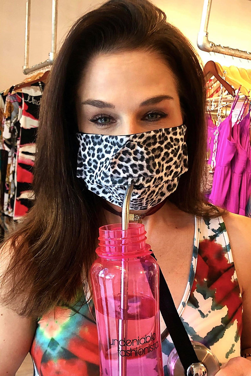 Safe & Sip Drinking Masks - Multiple Patterns