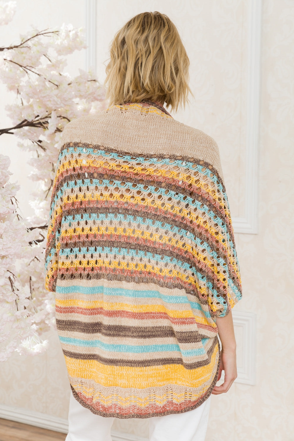 LAST CALL OS | Multicolor Shrug Cardigan