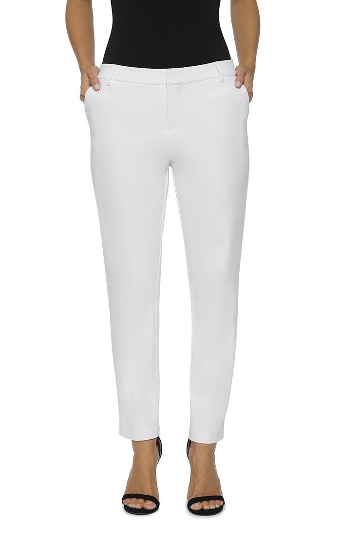 Low Rise Lightweight Ponte Dress Pants
