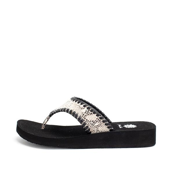 LAST CALL SIZE 9.5 | Snake Print Sandals