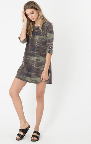 Camo Sweatie Dress