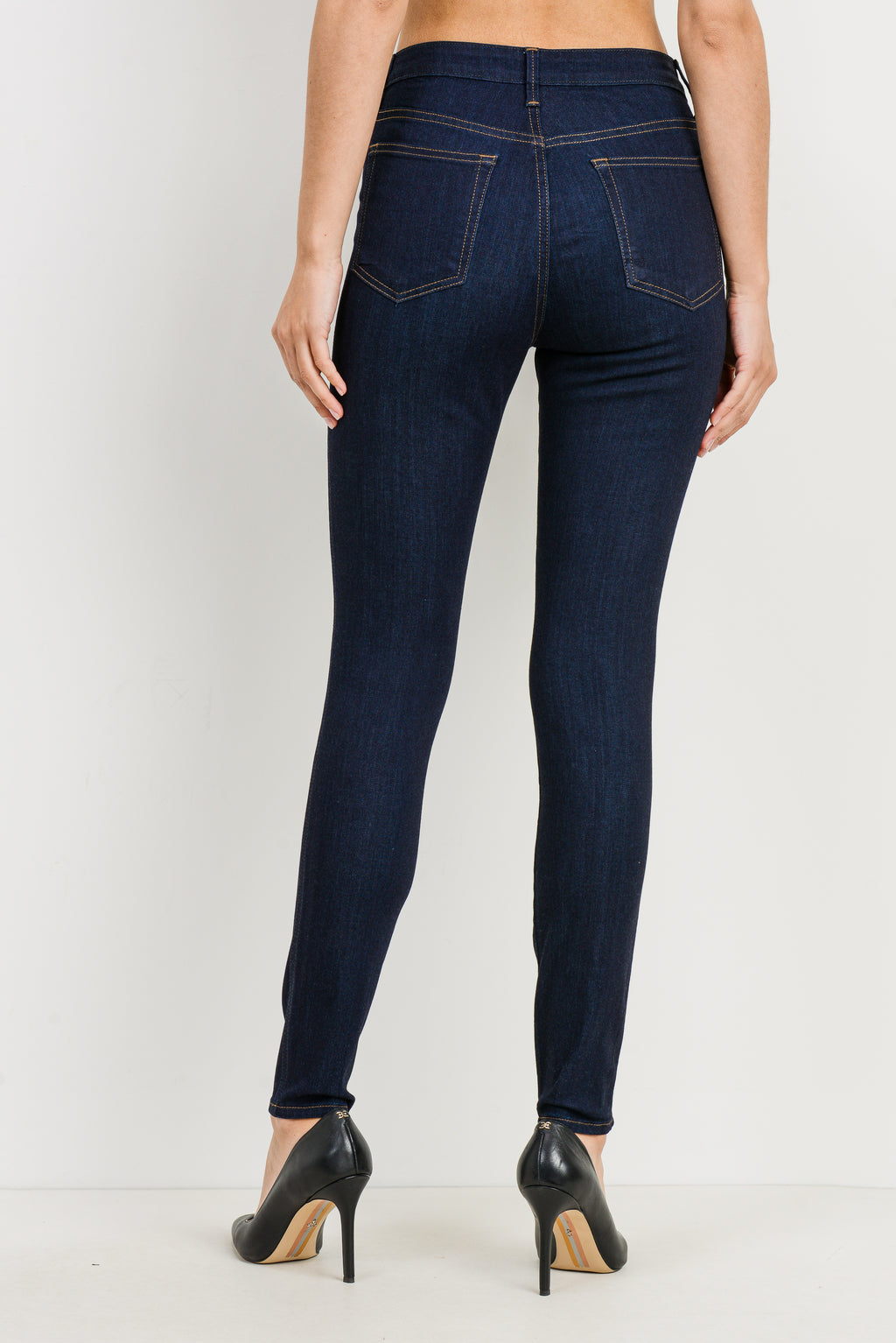 LAST CALL SIZE 25 | Classic Dark Wash Super Soft Skinny Jeans
