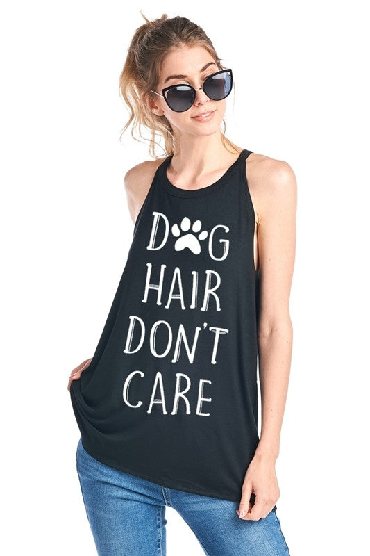 Dog Hair Don't Care Top