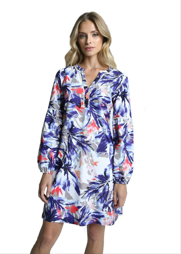 LAST CALL SIZE M | Wildflower Print Long Sleeve Dress