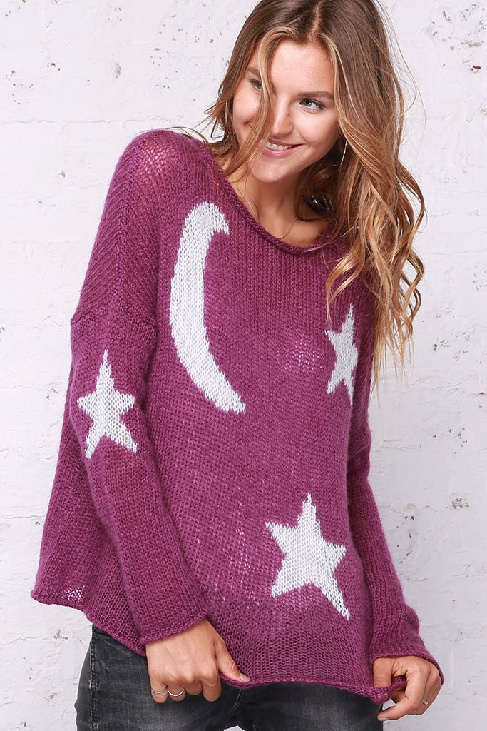 Moon and Stars Sweater View 2