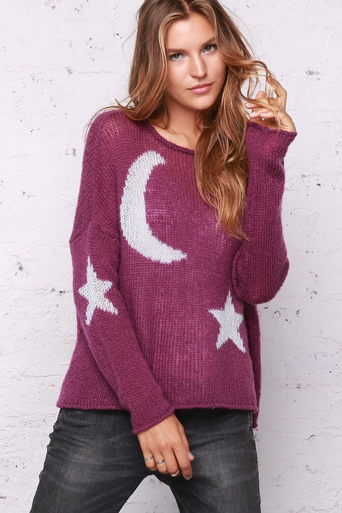 Moon and Stars Sweater View 3