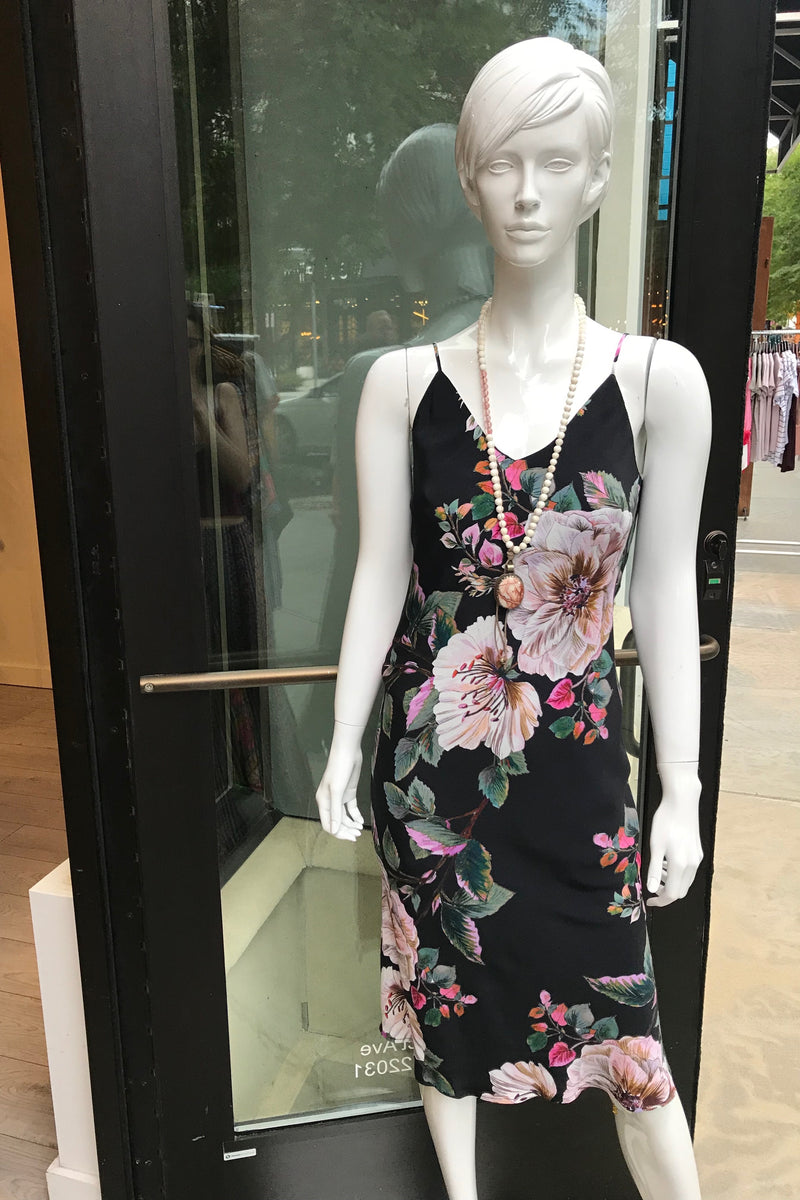 LAST CALL SIZE S  | Floral Print Midi Dress
