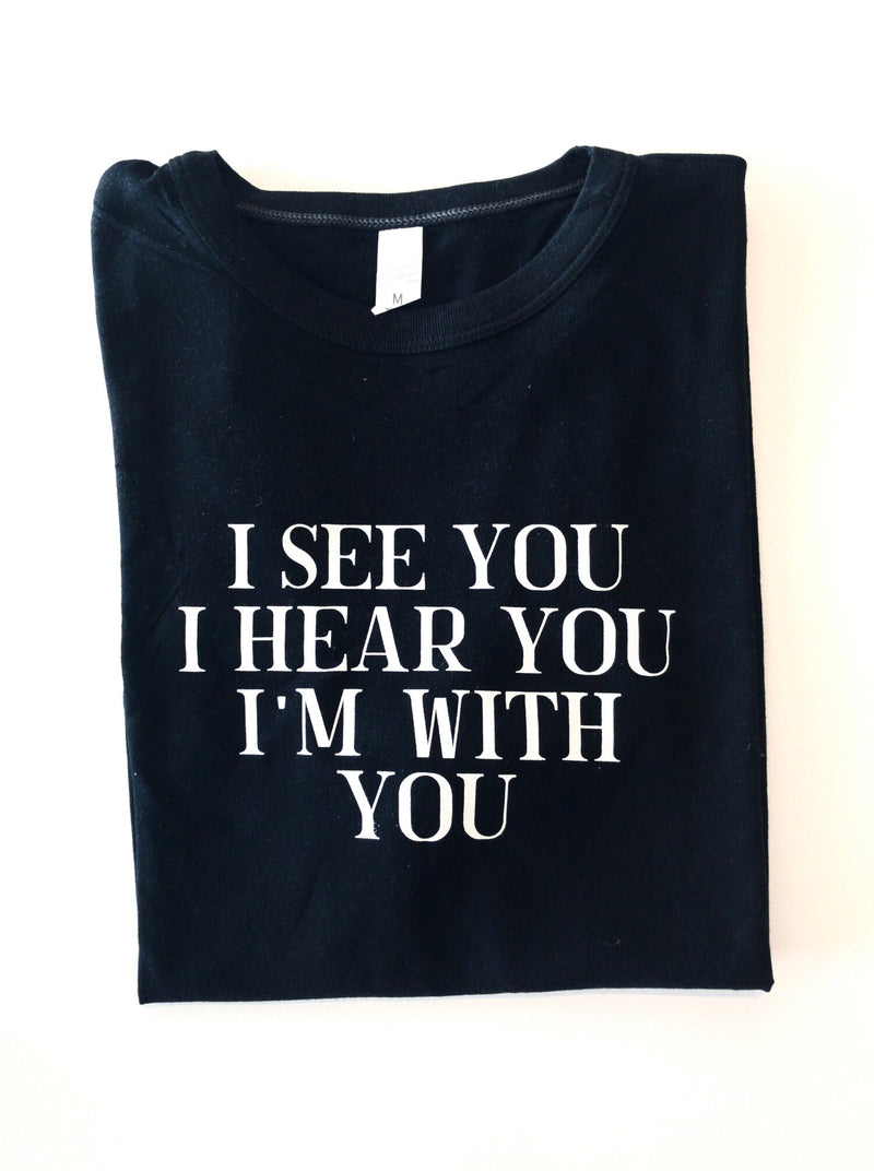 LAST CALL SIZE L | I See You T-Shirt Vintage Wash