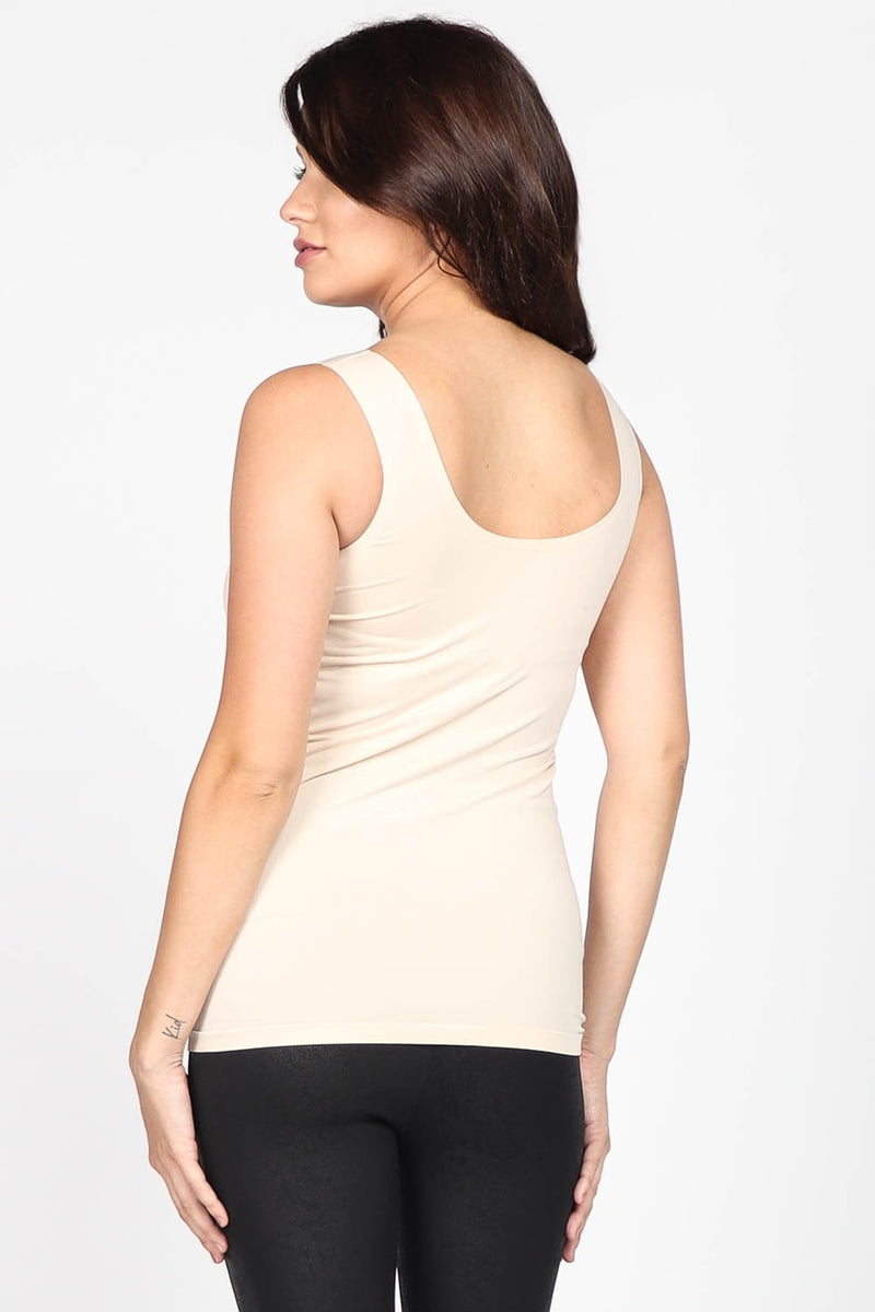Padded Cami Top in Nude