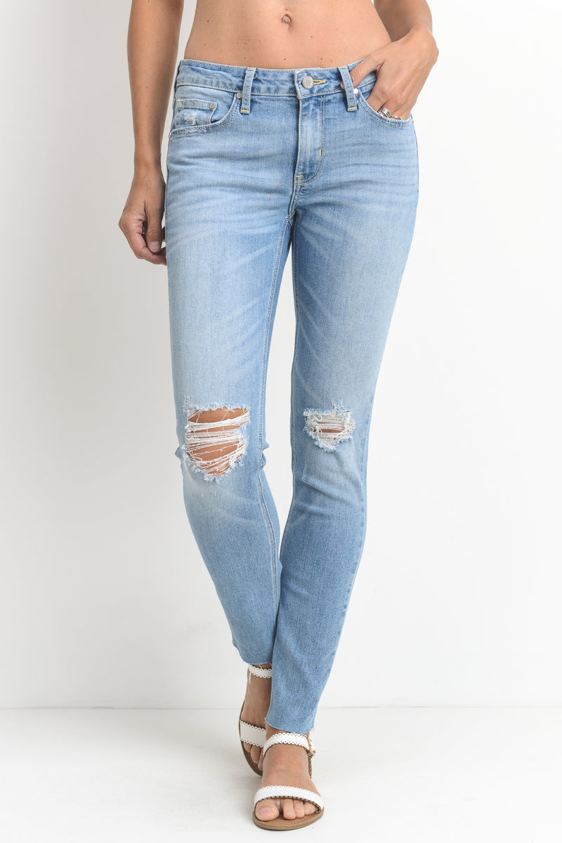 LAST CALL SIZE 29 | Destroyed Scissor Cut Jean