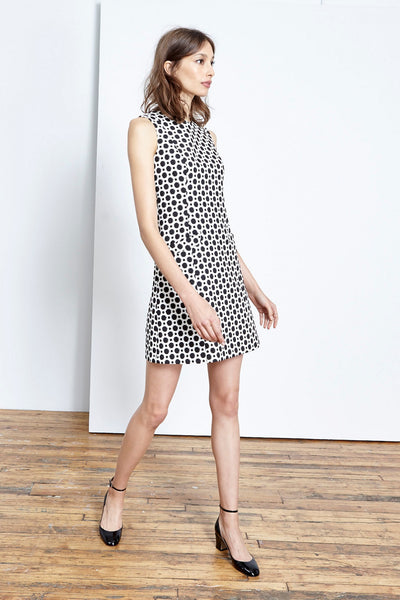 Absolutely Dotty Pocket Sheath Dress