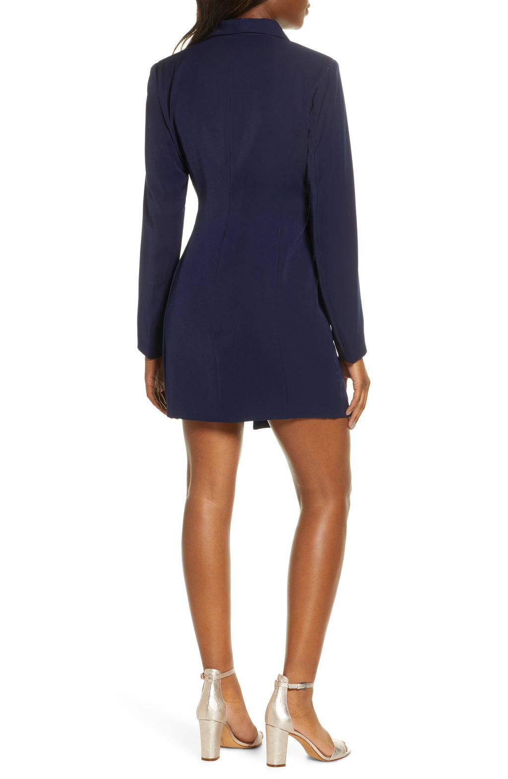 Ashtyn Jacket Dress in Navy
