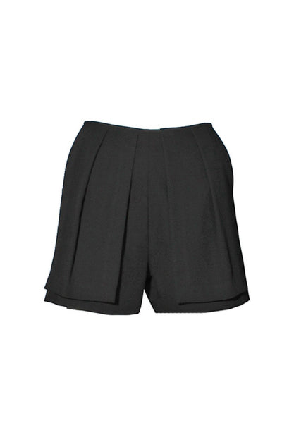 Front Panel Pleated Shorts