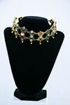 Crystal Choker Necklace - front