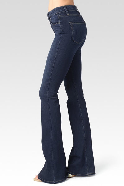 High Rise Bell Bottom Canyon Paige Jeans