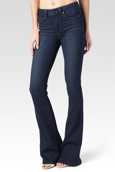 LAST CALL SIZE 27 | High Rise Bell Bottom Canyon Paige Jeans