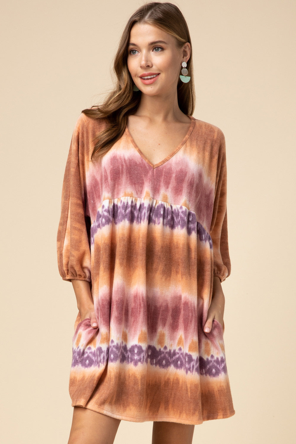LAST CALL SIZE M | Tie-Dye Babydoll Dress