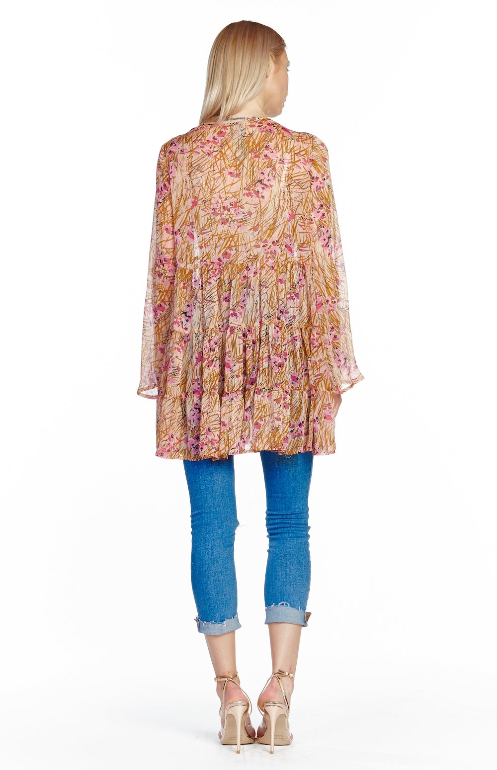 Boho Beauty Sequin Tunic Back