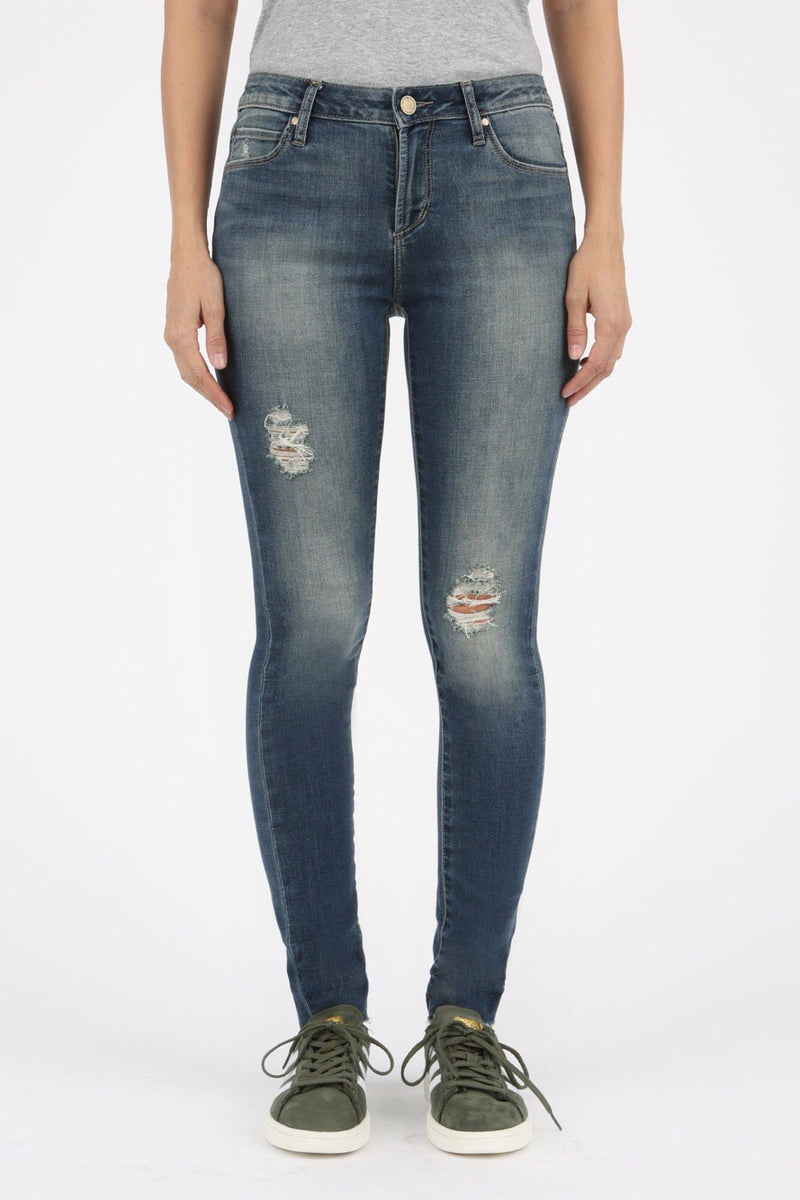 LAST CALL SIZE 25 | Distressed Skinny Jeans