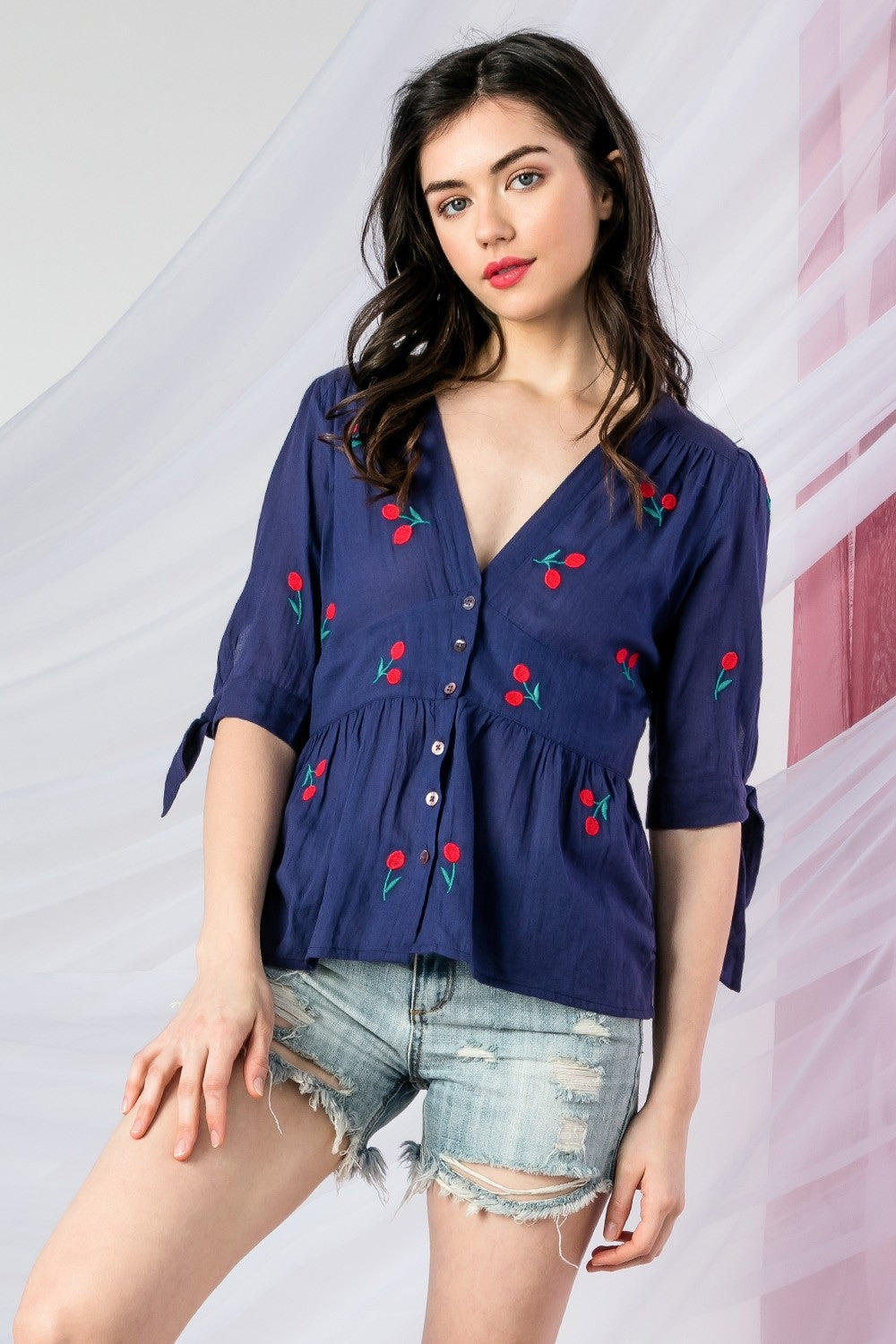 Cherry On Top Blouse