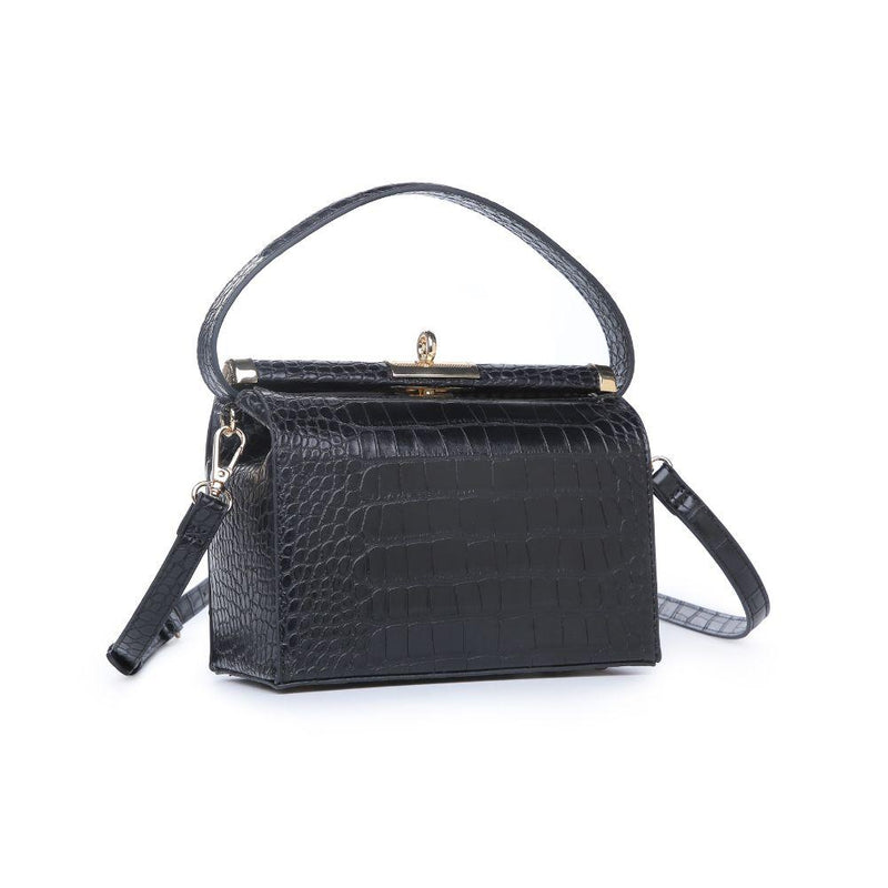 Croc Vegan Leather Crossbody Bag