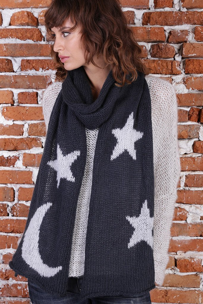 Moon and Stars Scarf