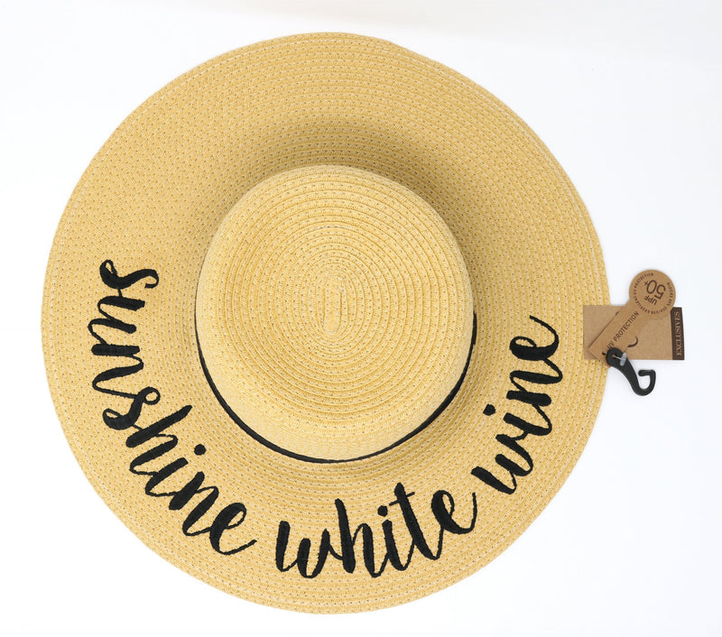 Sunshine White Wine Sunhat