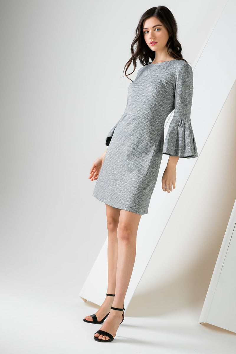 LAST CALL SIZE M | Bell Sleeve A-Line Dress