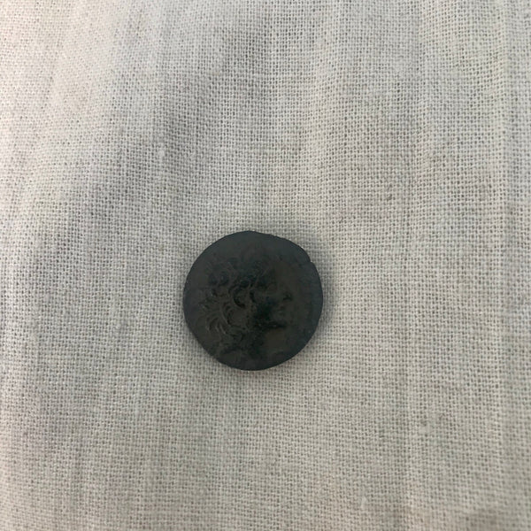 The Ancient Greek Coin - Sterling Silver