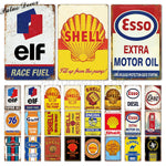 Metal signs - Gas stations [variant_title]