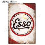 Metal signs - Gas stations ESSO 2 / 20x30 cm