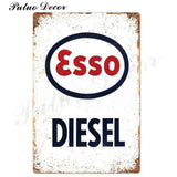 Metal signs - Gas stations ESSO 1 / 20x30 cm