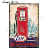 Metal signs - Gas stations ESSO 3 / 20x30 cm