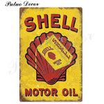 Metal signs - Gas stations SHELL 8 / 20x30 cm