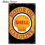 Metal signs - Gas stations SHELL 10 / 20x30 cm