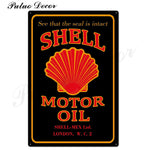Metal signs - Gas stations SHELL 9 / 20x30 cm