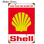 Metal signs - Gas stations SHELL 5 / 20x30 cm