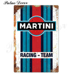 Metal signs - Gas stations MARTINI / 20x30 cm