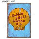 Metal signs - Gas stations SHELL 7 / 20x30 cm