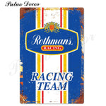 Metal signs - Gas stations ROTHMANS / 20x30 cm