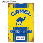 Metal signs - Gas stations CAMEL / 20x30 cm
