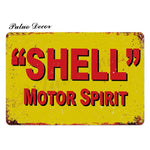 Metal signs - Gas stations SHELL 2 / 20x30 cm